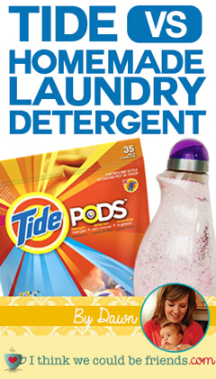 Wow, this is impressive! Can't wait to try (home made detergent recipe included!)