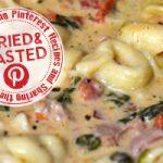 Pinterest Win: Crockpot Cheese Tortellini & Sausage