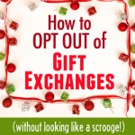 How to tell your family you don't want to exchange Christmas gifts this year