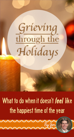 If you have recently lost a loved one, the holidays may not feel like a joyful time. A family therapist shares ideas to get through this difficult season.