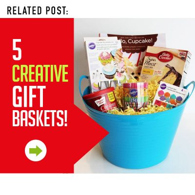 5 Creative Gift Basket Ideas for Christmas or anytime of year!