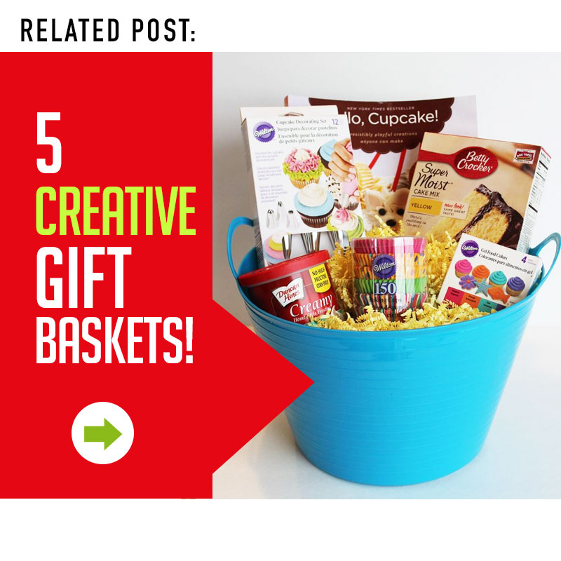 5 Creative & Unique Christmas Gift Baskets that your friends & family will love!!