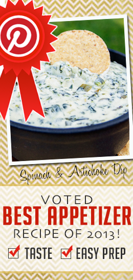 BEST (and easiest) spinach and artichoke dip recipe...and I have tried quite a few!