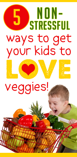 I always feel guilty that my kids don't get enough veggies, but these are GREAT ideas!