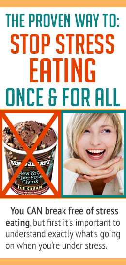 Seriously, understanding the WHY behind stress eating is SO helpful! GREAT article!