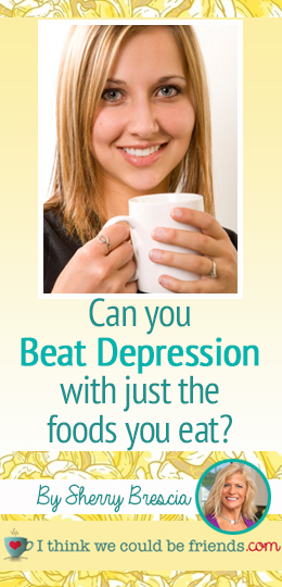 Great, great information about the foods we eat and depression