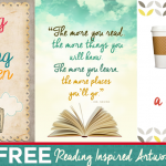 FREE Reading Artwork!
