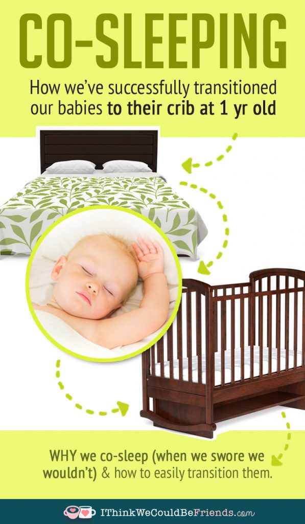 Easy no-cry method to transition baby or toddler from parents bed to their own crib--works awesome!!