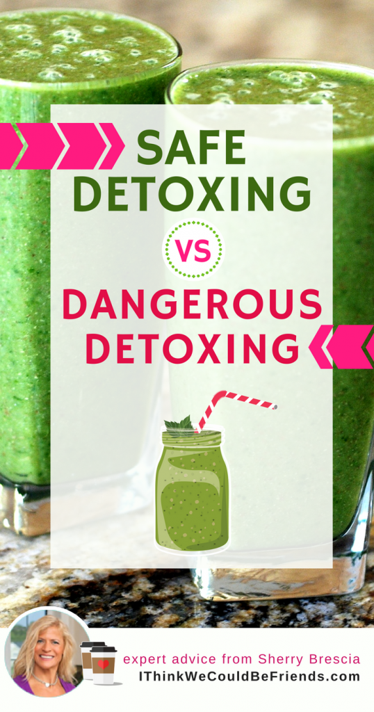 Cleanses and detox products are designed to help loosen and release toxins from your cells and tissues. But the more important part is that your body actually needs to be able to get RID of those toxins. If you don't, they can get dumped into circulation, and that makes them even MORE deadly than they were BEFORE! #detox #safe #nutrition #how #tips