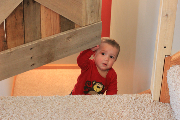 Palette Wood Baby & Pet Gate