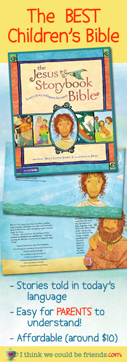 A complete account of the bible, EASY to understand and ALL ages enjoy it! Makes a great gift :)