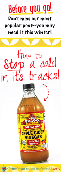 This really works to stop a cold!