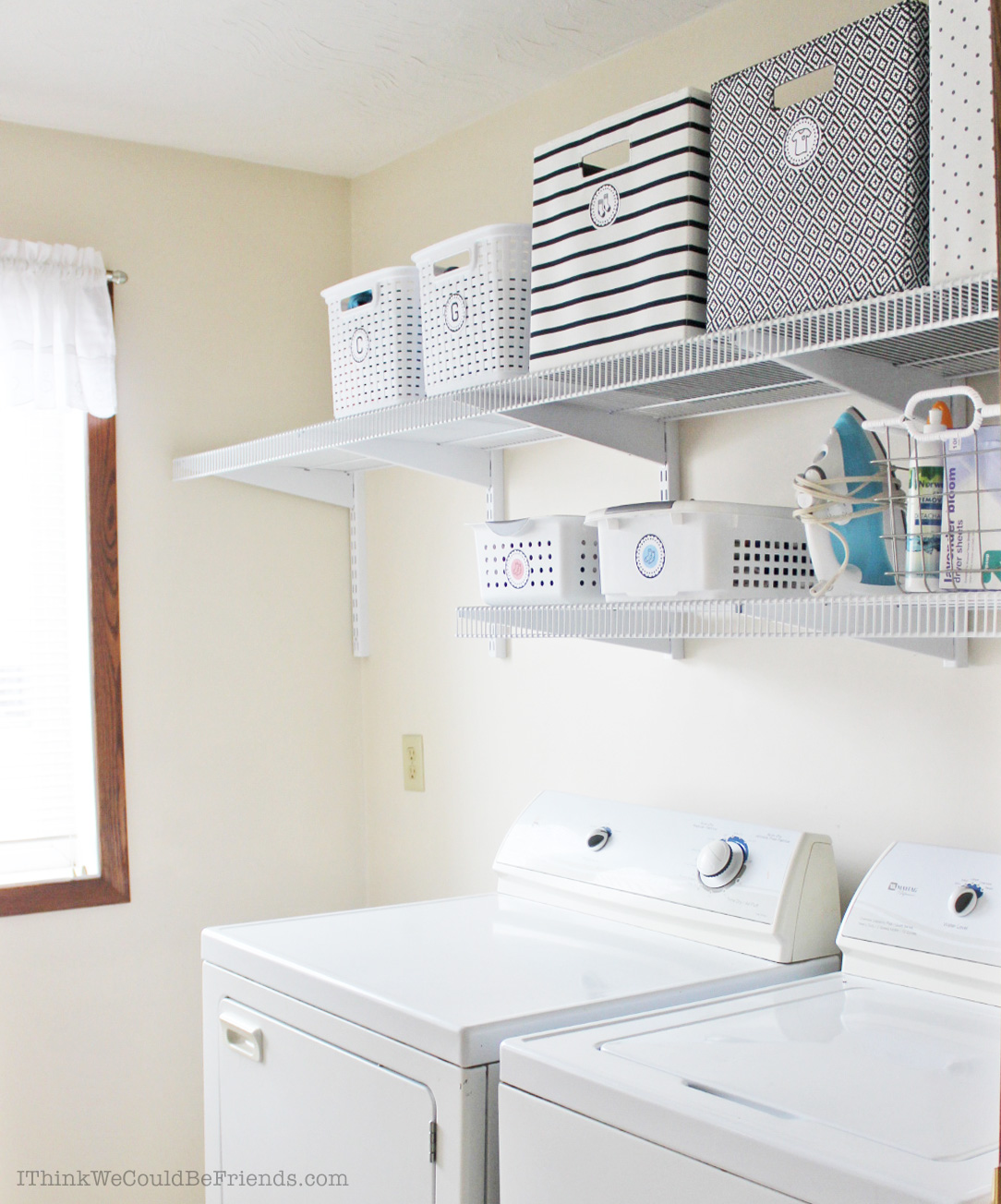 My Laundry System: How I literally cut the time it takes me to do laundry from start to finish IN HALF with 3 simple steps!! (and why I got rid of ALL of our laundry baskets!) #laundry #room #system #organization #tips #save #time