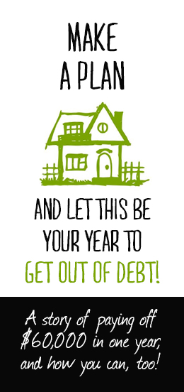 How we paid of $60,000 of debt in ONE YEAR (and you can, too!) Make a plan, work the plan & just see what happens!! #debtfreecommunity #debtfree #debtfreeliving