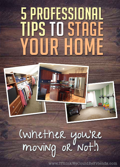 A story of selling our house in 4 days after staging it (and why I wish I would have done this years ago!)--Do this even if you're not moving!