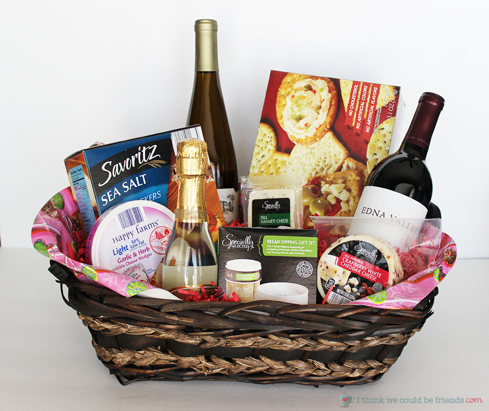 5 Creative Gift Baskets You donu0027t have to be a wine expert to & 5 Creative DIY Christmas Gift Basket Ideas for friends family u0026 office!