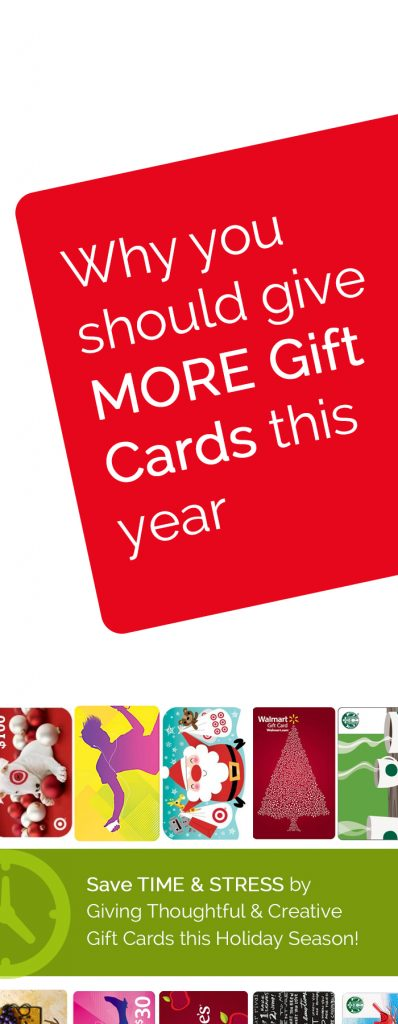 This is GREAT advice about giving gift cards, plus some creative Christmas gift card ideas I hadn't thought of :) #christmas #gift #card #ideas #easy #quick