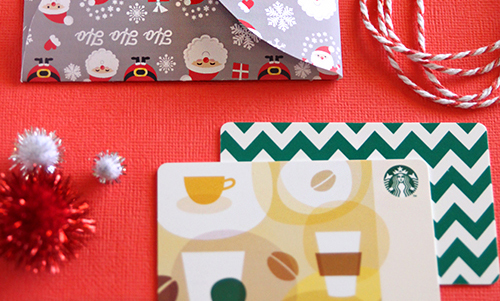 Why You Should Give More Gift Cards This Christmas Creative Gift