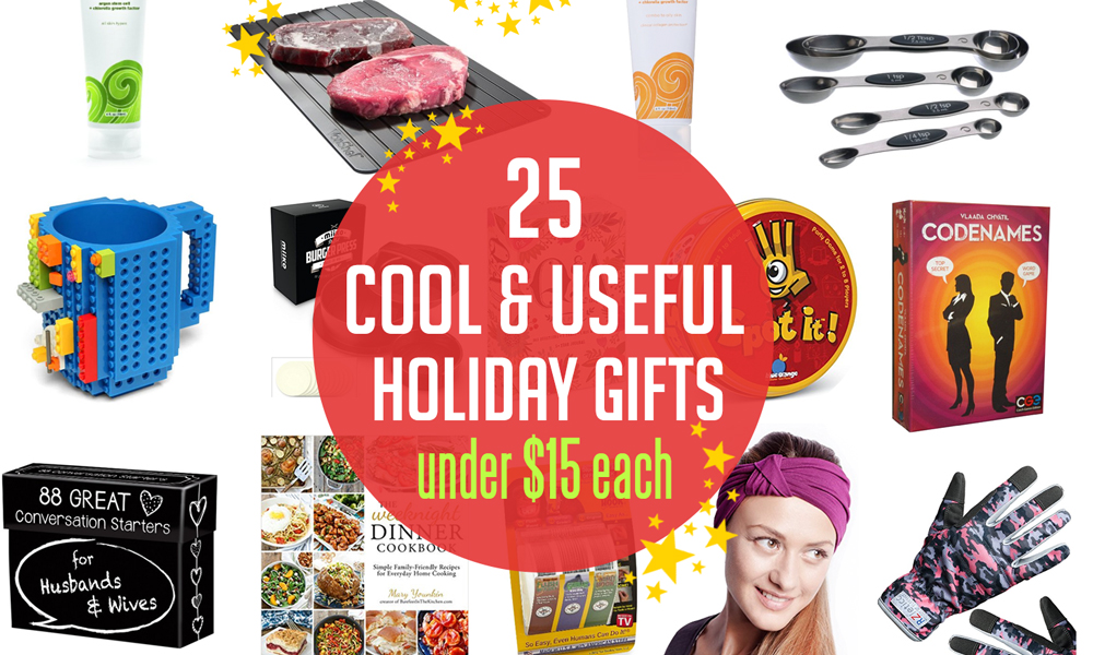 25 cool useful christmas gift ideas from amazon prime for under 15 - Amazon Christmas Gift