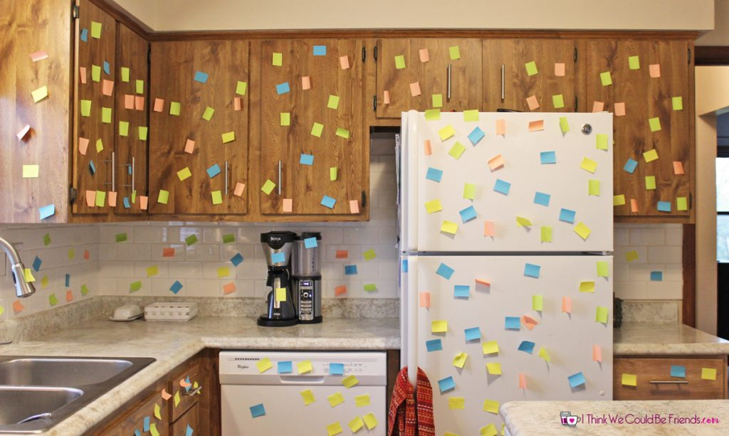 55 New Elf On The Shelf Ideas 6 Post It Note Game