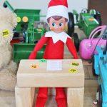35 New Elf on the Shelf Ideas: #1 Garage Sale