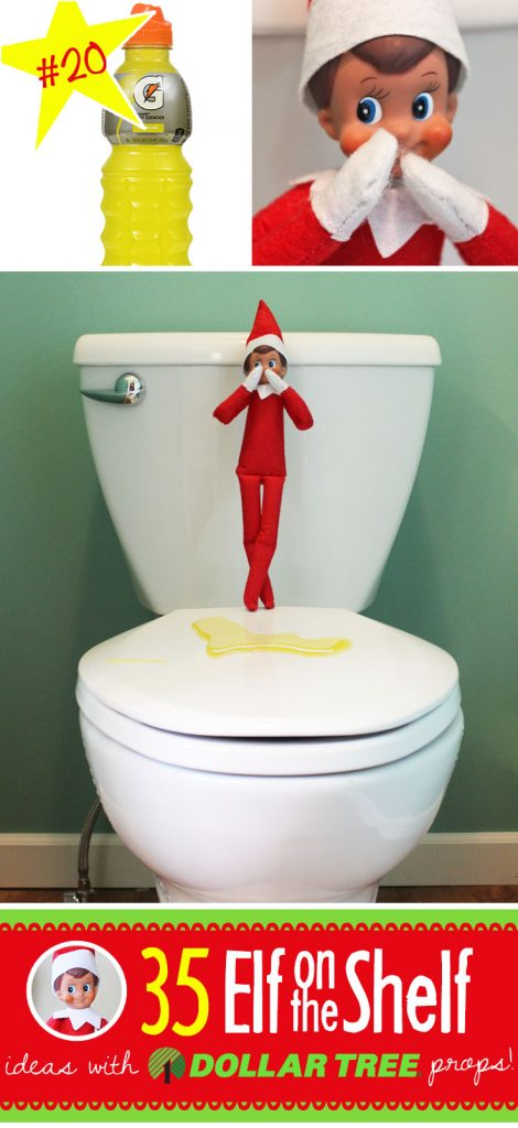 image about Elf on the Shelf Printable Props titled 55+ Manufacturer Refreshing Inventive Humorous Elf upon the Shelf Tips with