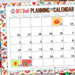 Free Printable Elf on the Shelf Planning Calendar for 2017!
