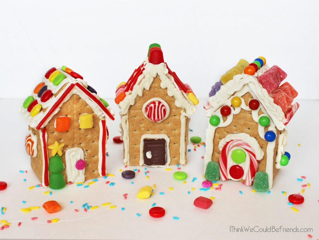 graphic about Printable Gingerbread House named Do it yourself Detailed Gingerbread Residence Package inside a Bag! Cost-free Printable