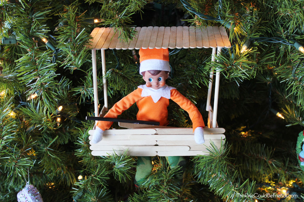 New! 5 Funny Redneck Elf on the Shelf Ideas! These are awesome! #ElfontheShelf #Funny #DIY #Easy #Quick #Redneck #Boys #Ideas