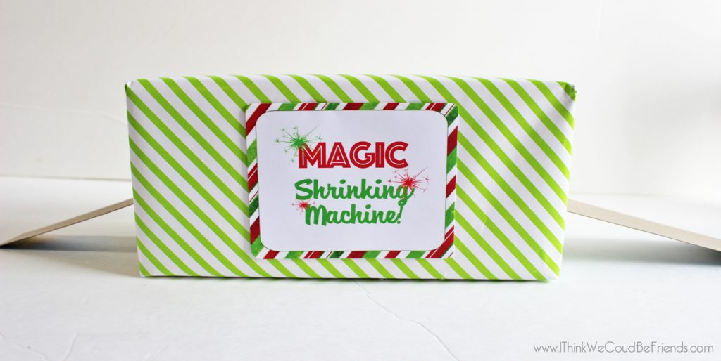 35 New Elf On The Shelf Ideas 28 Magic Shrinking Machine