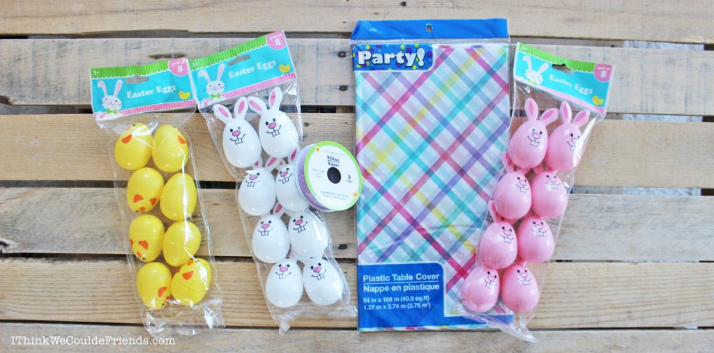 Diy Easter Egg Garland Decoration With Dollar Tree Items Quick