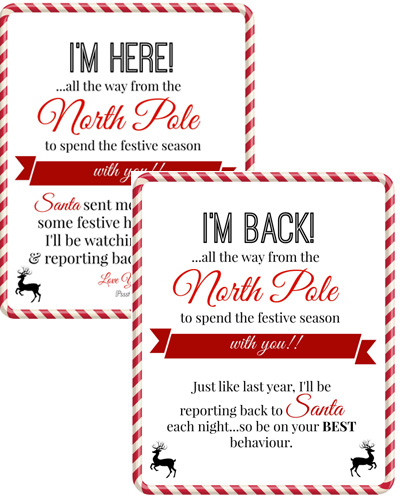 we hope this helps to have all elf on the shelf arrival letters in one place click here for the free printable letters