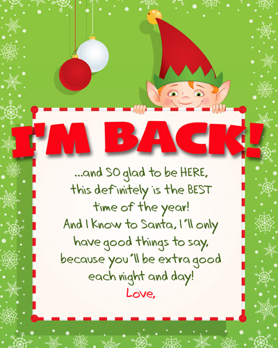 from the complete index of free printable elf on the shelf arrival
