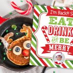 Elf on the Shelf Breakfast Arrival Sign: Free Printable