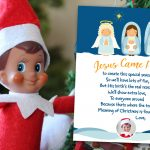 Faith Based (Christian) Elf on the Shelf Arrival Letter | Free Printable
