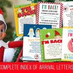 Elf on the Shelf Arrival Ideas: Complete Index of FREE LETTERS