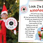 Elf on the Shelf Arrival Idea: 5 min Northpole Cam with FREE Printable Letter!