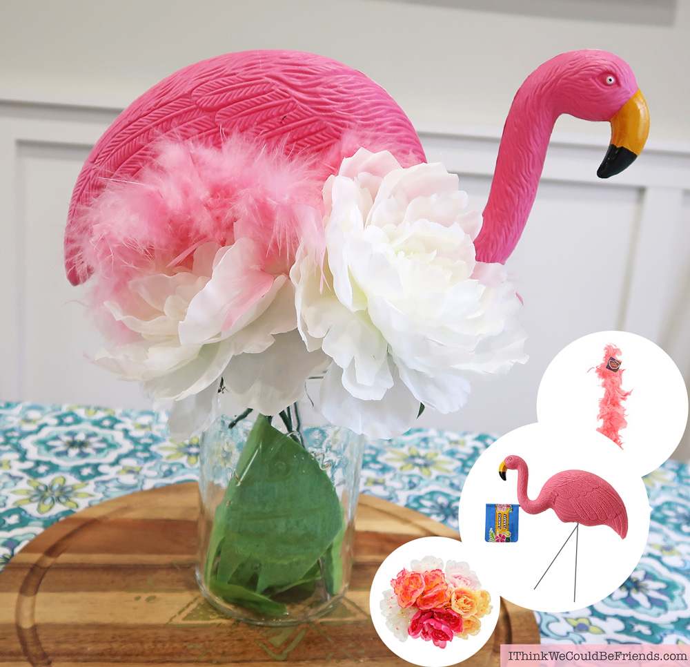 Cheap but TASTEFUL Flamingo Party Decoration Ideas