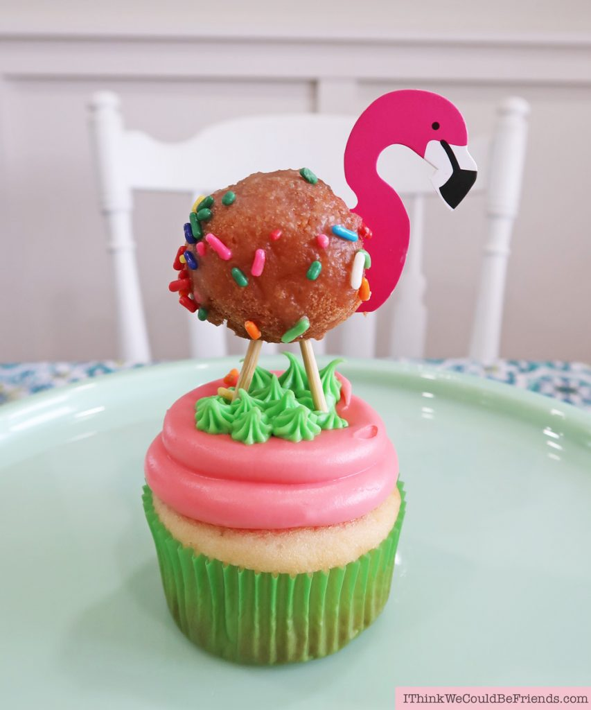 Cheap But Classy Flamingo Baby Shower Party Decoration
