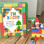 Elf on the Shelf Free Printable Lego Arrival Letter!