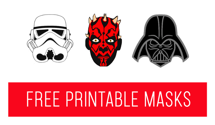 picture regarding Star Wars Printable Mask known as Elf upon the Shelf Advent Concept: No cost Printable Star Wars