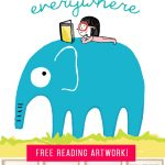 FREE Reading Printables for Kids Rooms! Or your children's nursery, school room or playroom!