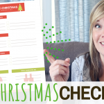 Pre-Christmas Worksheet to reduce Stress & Anxiety