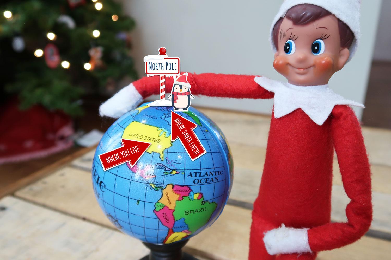 50 New Elf On The Shelf Ideas 43 Where Does Santa Live