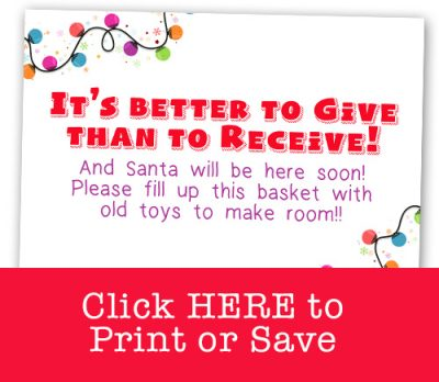 Elf on the Shelf wants to help you get rid of the old toys to make room for the NEW!! This fun idea includes a free printable! Click through for 55+ new Elf on the Shelf ideas!!! #elfontheshelf #easy #quick #new #toddler #boys