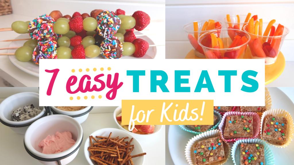 7 Easy Snack Ideas for Kids