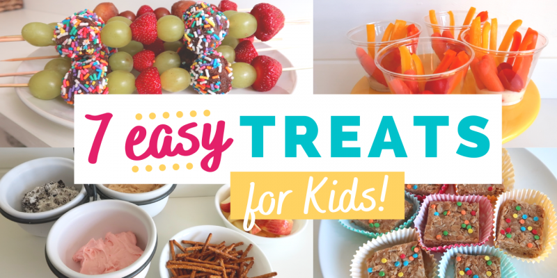 7 Easy Snack Ideas for Kids