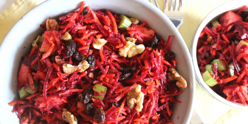 Apple Beet Carrot salad